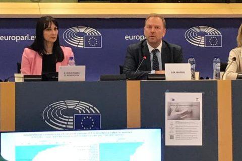 """Ο Μακρής Γεώργιος – Μάριος συμμετείχε στη διάλεξη """"Gender in health. Challenges for a healthier future for women in Europe"""" που πραγματοποιηθηκε στο Ευρωπαϊκό Κοινοβούλιο στις Βρυξέλλες."""
